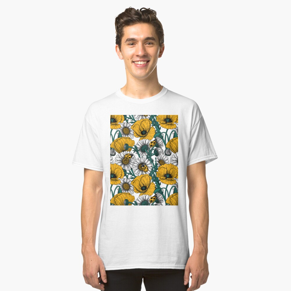 The meadow in yellow Classic T-Shirt
