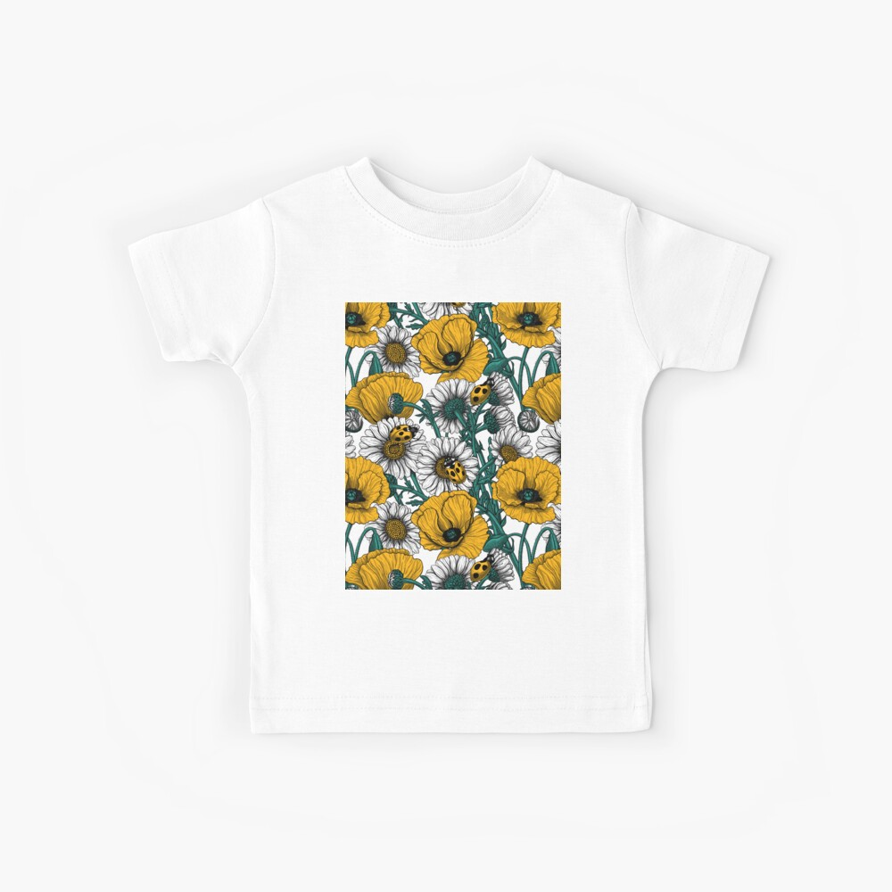 The meadow in yellow Kids T-Shirt