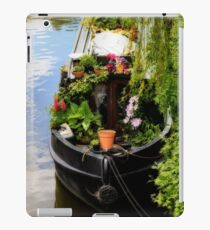 Houseboat horticulture iPad Case/Skin