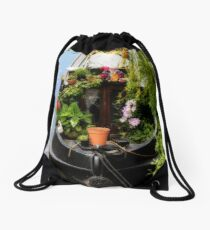 Houseboat horticulture Drawstring Bag
