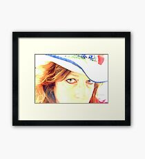 Marvel CowGirl Framed Print