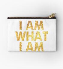 I am what I am lyric - John Barrowman (WHITE) Studio Pouch