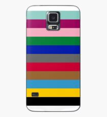 Colours of The London Underground Case/Skin for Samsung Galaxy