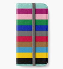 Colours of The London Underground iPhone Wallet/Case/Skin
