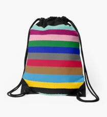 Colours of The London Underground Drawstring Bag