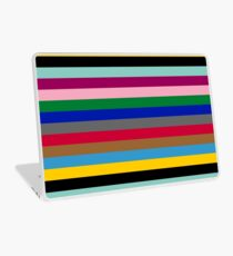 Colours of The London Underground Laptop Skin
