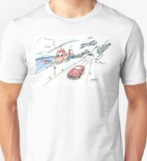 Funny car, airplane, boat and helicopter T-Shirt