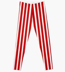 Candy Stripe: Leggings | Redbubble
