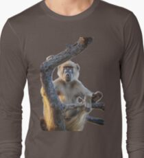 Too Laid Back – Adult Male Baboon Long Sleeve T-Shirt