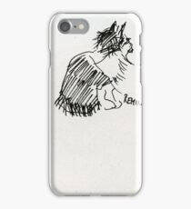 Sketched Cats 1 iPhone Case/Skin