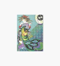 Phoenix Uchikake Kimono Kitty Art Board