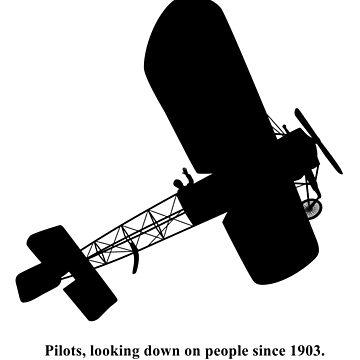 Piloten, die seit 1903 auf die Menschen schauen. von LAZYJSTUDIOS