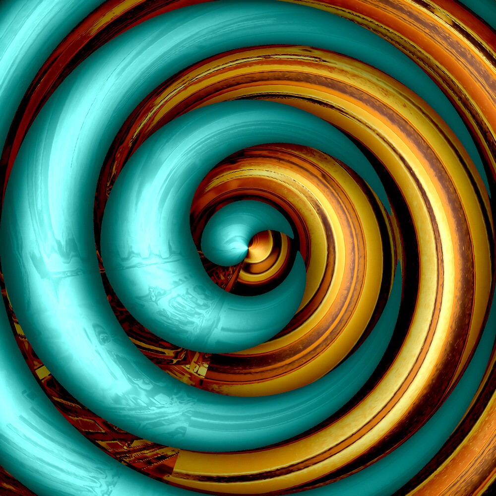 Mingle - Turquoise by Wendy J. St. Christopher