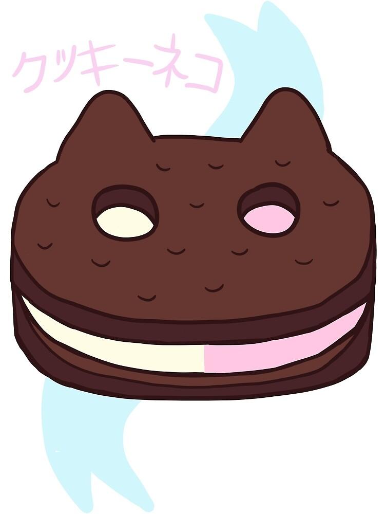 Cookie Cat! by rainyafternoons