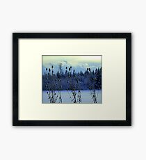 "Teasles & Clouds featured in ""Cees Fun Artsy Friends"" Framed Print"