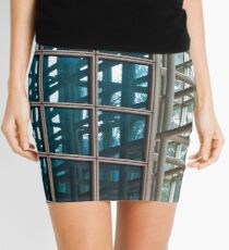 Shapes And Reflections Mini Skirt