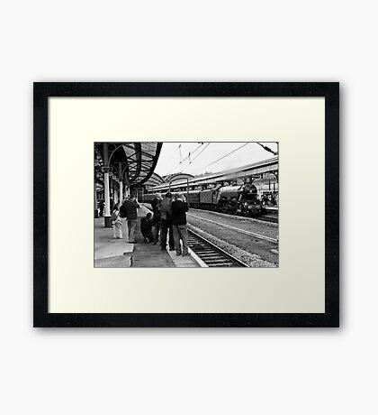 Train Spotting Framed Print