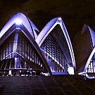 Stylised Opera House by Keith Irving