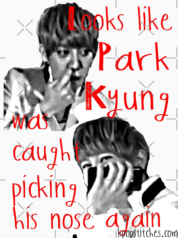 Block B Park Kyung picking his nose AGAIN! by dubukat