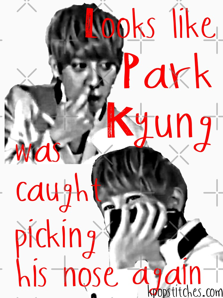 Block B Park Kyung picking his nose AGAIN! by dubukat
