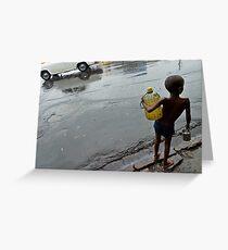 Monsoon. Kolkata Greeting Card