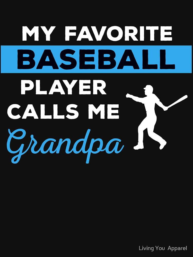 Funny Baseball Grandpa T-shirt Gift by mikevdv2001