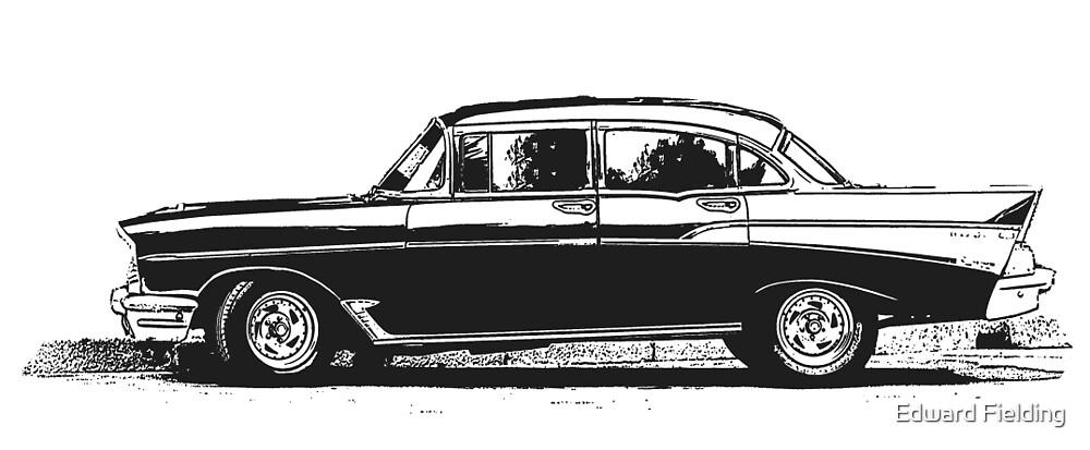 Old Classic Car by Edward Fielding