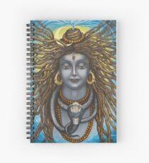 Gangadhara Shiva Spiral Notebook