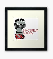 Sincerely Yours, The Breakfast Club Framed Print