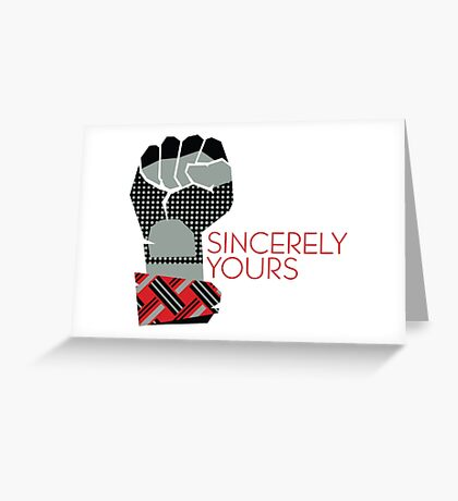 Sincerely Yours, The Breakfast Club Greeting Card