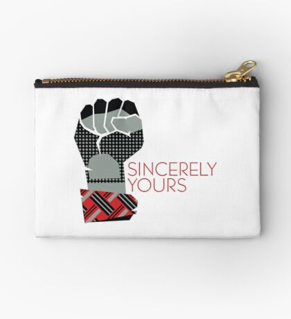 Sincerely Yours, The Breakfast Club Zipper Pouch