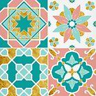 Azulejos - Spring Palette by zephyrra