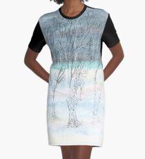 Under Northern Skies Graphic T-Shirt Dress