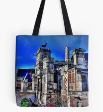 «Anet Castle | Anet Castle »- DDD B ^ ck [fx] by RootCat (square) Tote Bag
