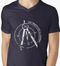 The Travelers Blueprint Podcast V-Neck T-Shirt