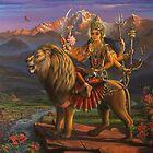 Shree Durga by Vrindavan Das