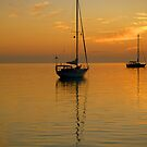 Sunset at Governors Harbour, Eleuthera, The Bahamas by aaxford