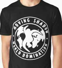 Moving Shadow World Domination Logo Graphic T-Shirt