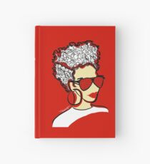 Strawberry Lady- Red Hardcover Journal