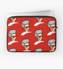 Strawberry Lady- Red Laptop Sleeve