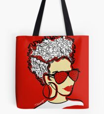 Strawberry Lady- Red Tote Bag