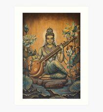 Sarasvati Art Print