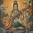 Sarasvati by Vrindavan Das