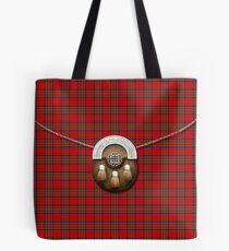 Royal Stewart Tartan und Sporran Tote Bag