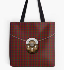 Clan Robertson Tartan und Sporran Tote Bag