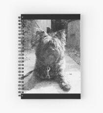 Sketching Toto  Spiral Notebook