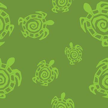 Tortuga Verde Imprimir de ImagineThatNYC