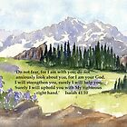 Have No Fear- Isaiah 41:10 by Diane Hall