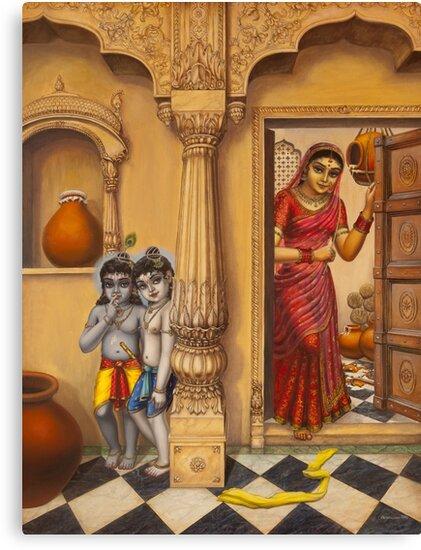 Krisha makhan chor by Vrindavan Das