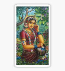 Radha Sticker